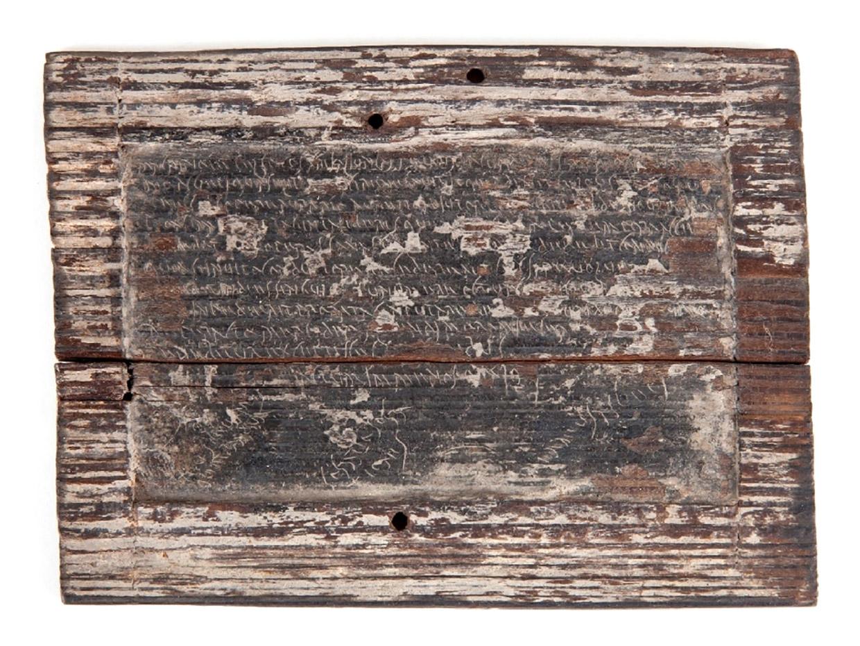 Tăblița cerată XI, Arhiva MNIR